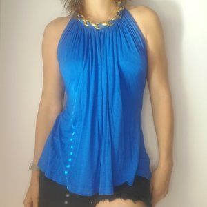 Wet Seal High Neck Draped Top